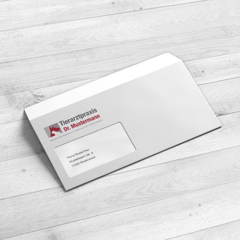 Briefumschläge für die Tierarztpraxis - ruhmservice.de