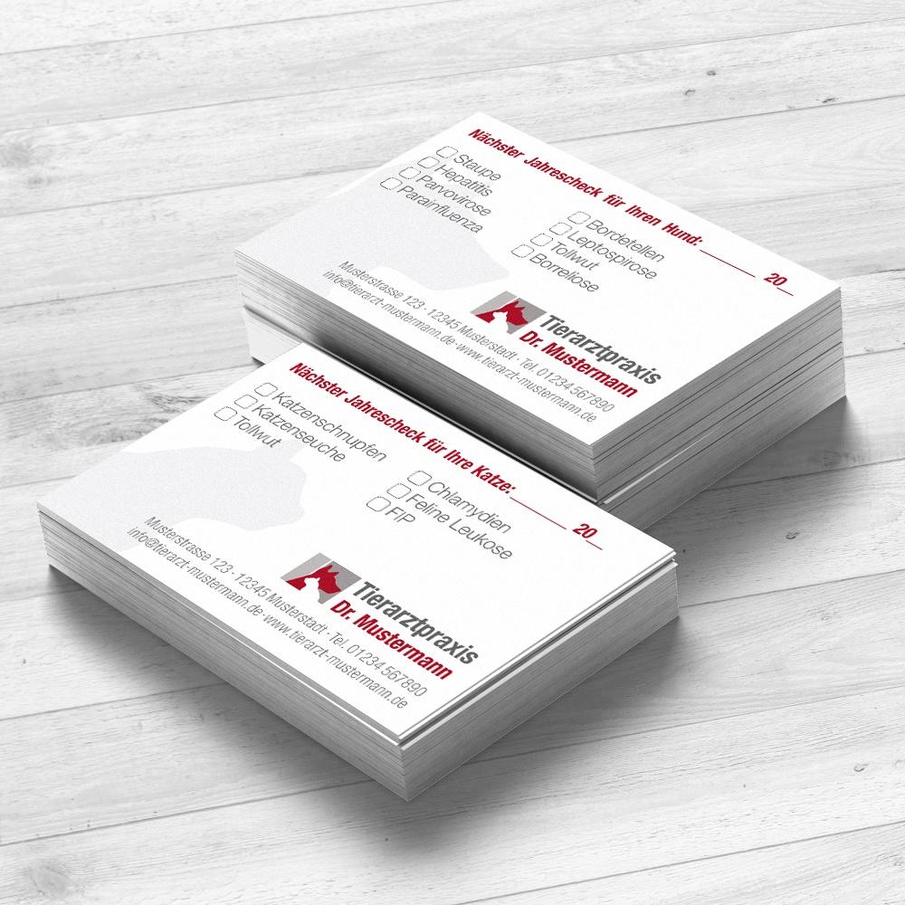 Impfpasskarten für den Tierarzt von Ruhmservice Consulting
