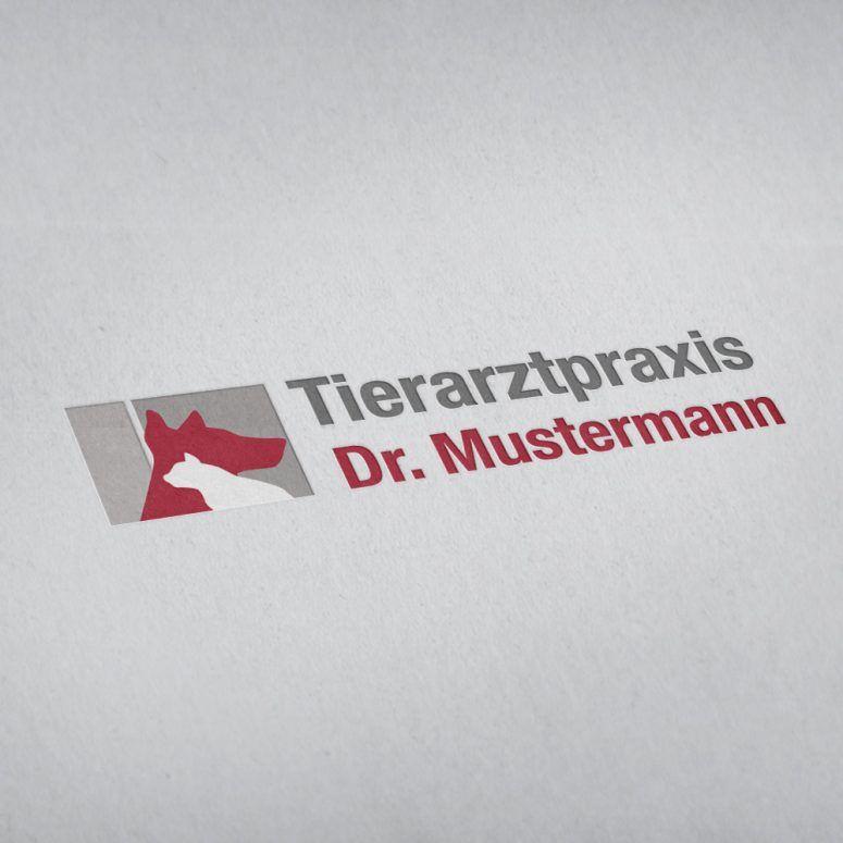 Logo-Design - Erstellung Tierarztpraxis - ruhmservile.de