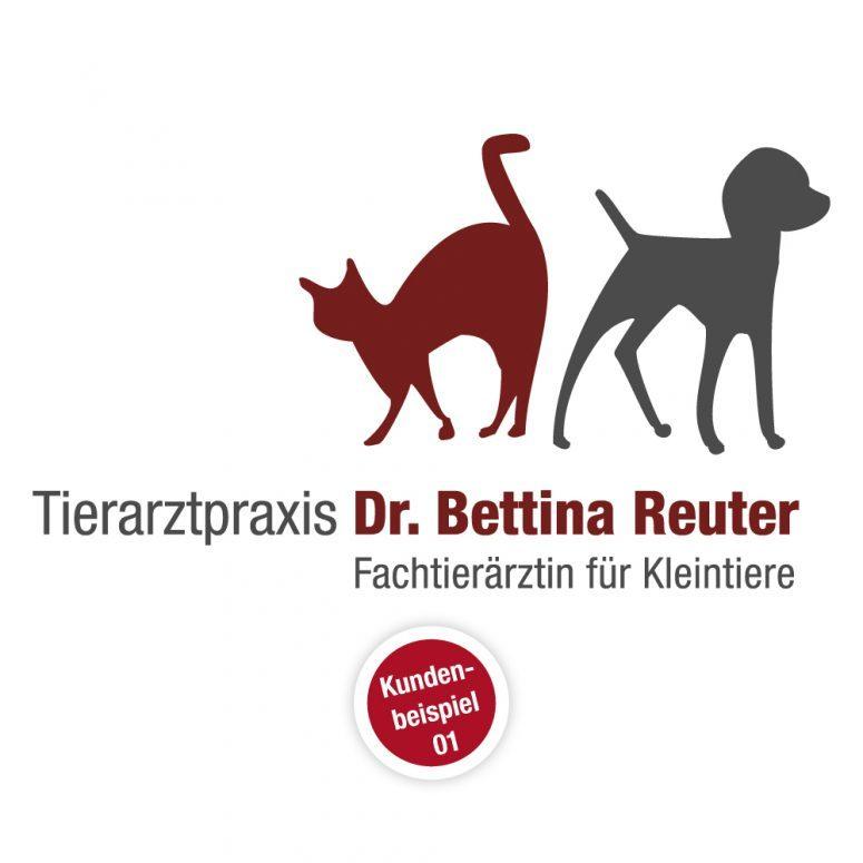 Logo Tierarzt - Muster 1 - Ruhmservice Consulting