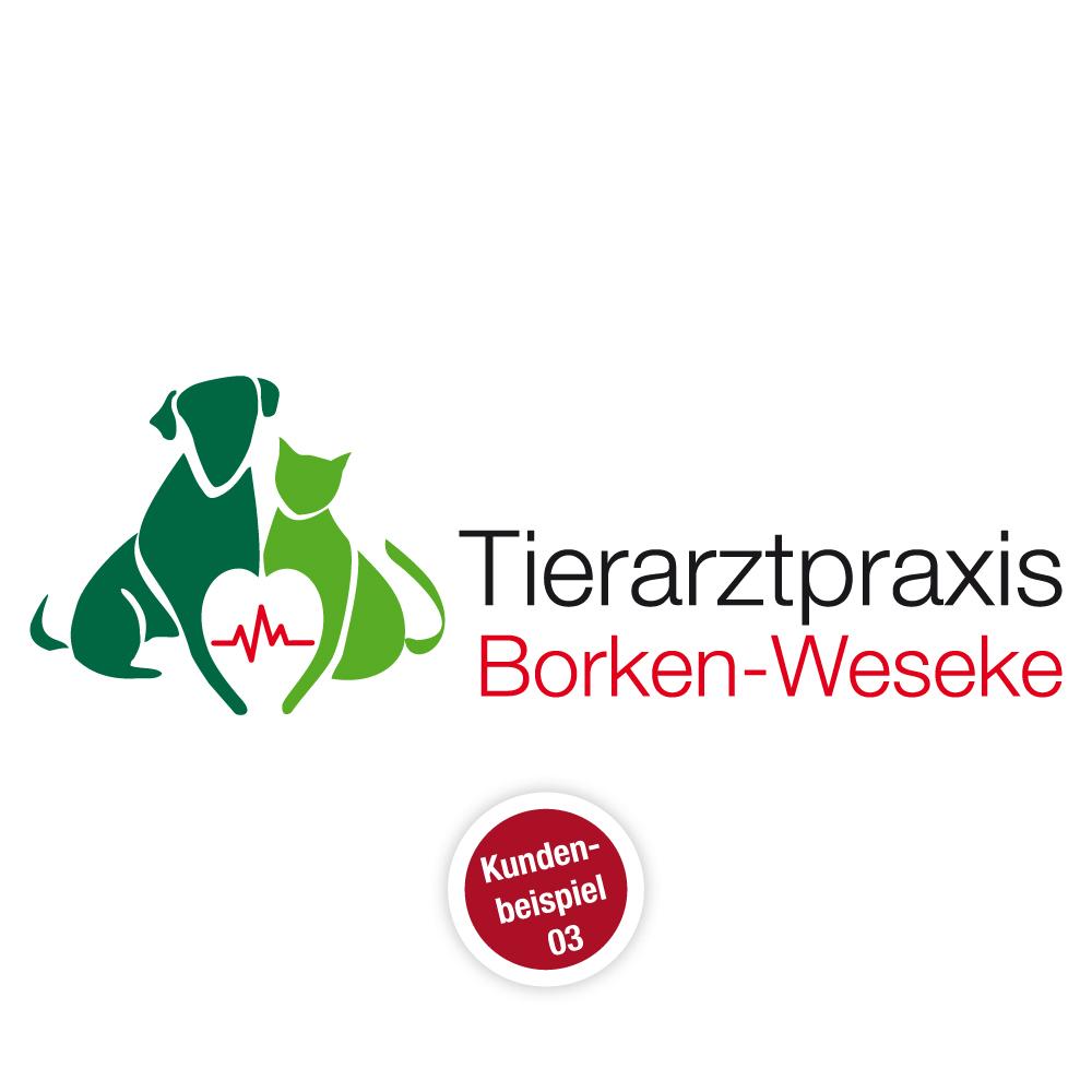 Logo Tierarztpraxis - Muster 3 - Ruhmservice