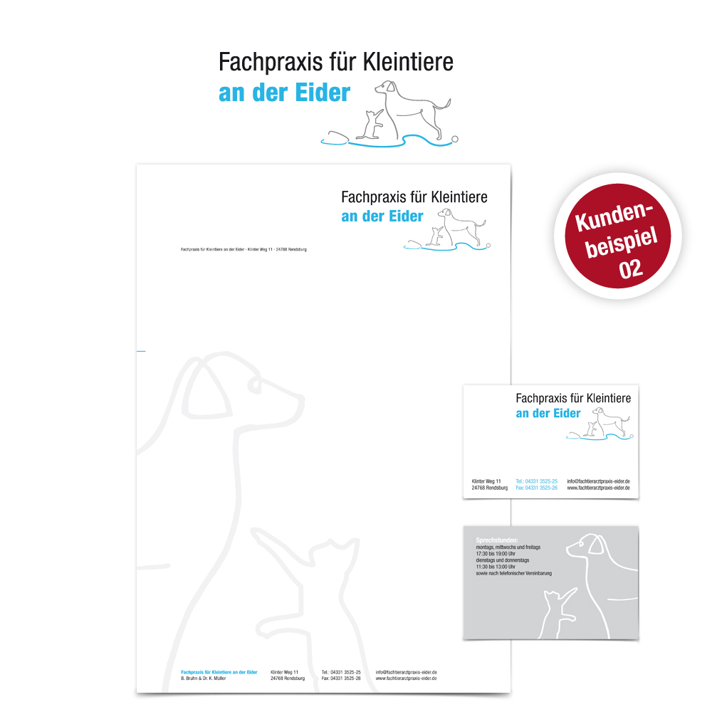 Logo Design Tierarzt Paket - Ruhmservice