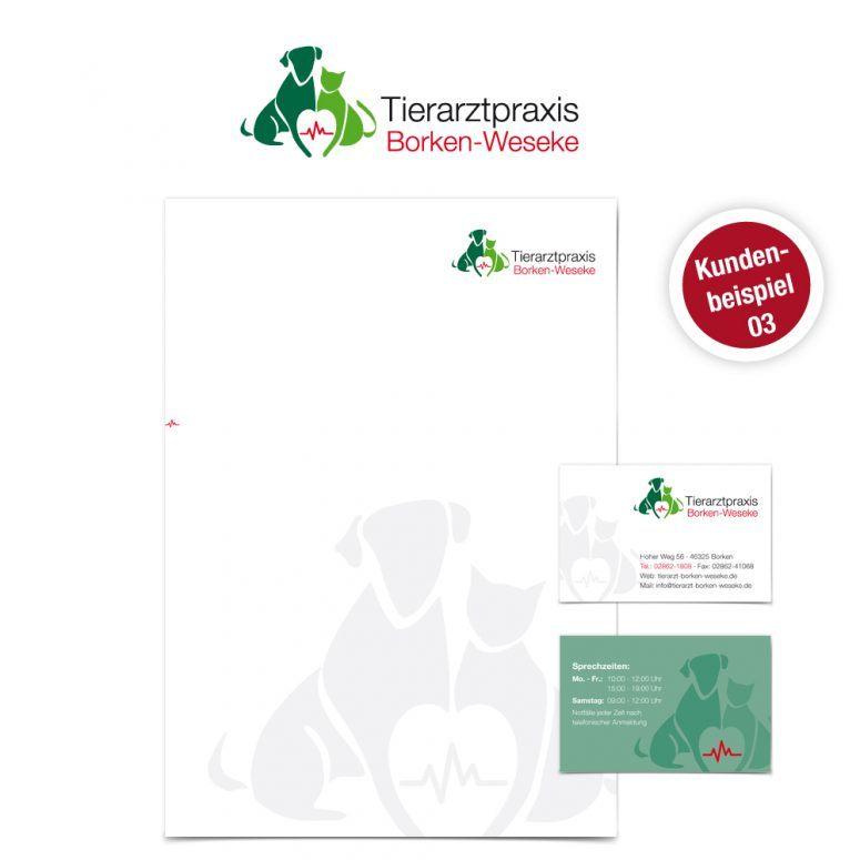 Logo Paket Tierarztpraxis - Ruhmservice Consulting
