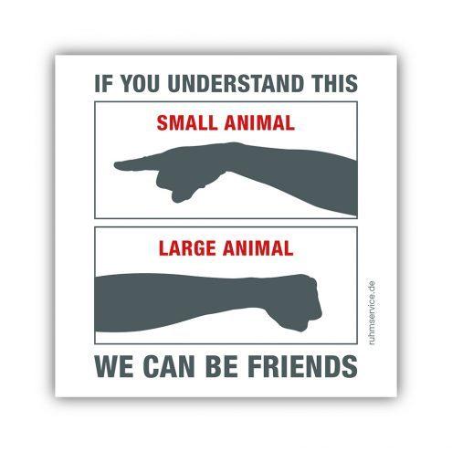 Aufkleber Tierarzt
