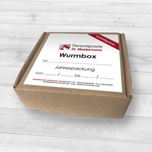 Wurmbox Entwurmung Hund Katze Tierarzt