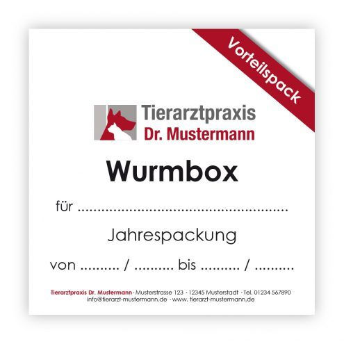 Ruhmservice Wurmbox Tierarztpraxis