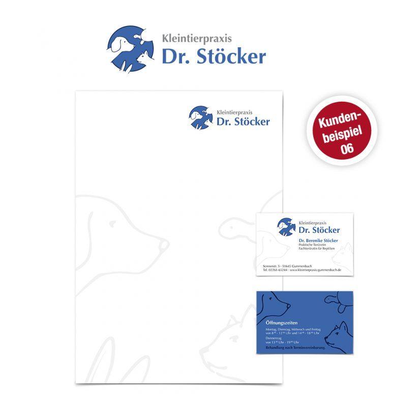 Briefpapier für Tierärzte 06