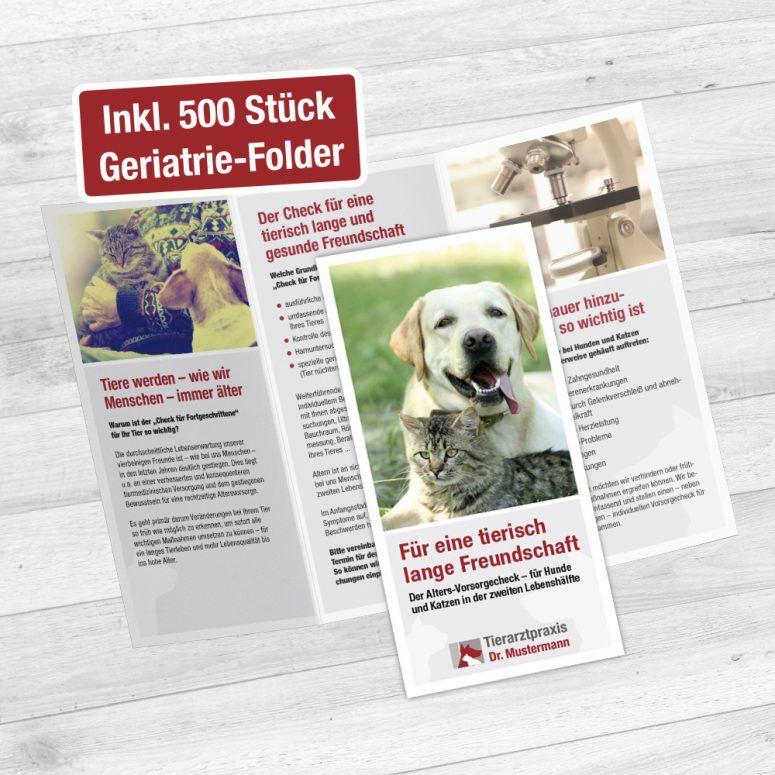 Geriatrie Folder für Tierärzte