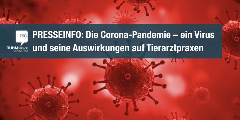 Pressemitteilung: Corona-Pandemie – wie verkraften Tierarztpraxen die Krise?