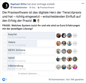 facebook digitale Tiermedizin