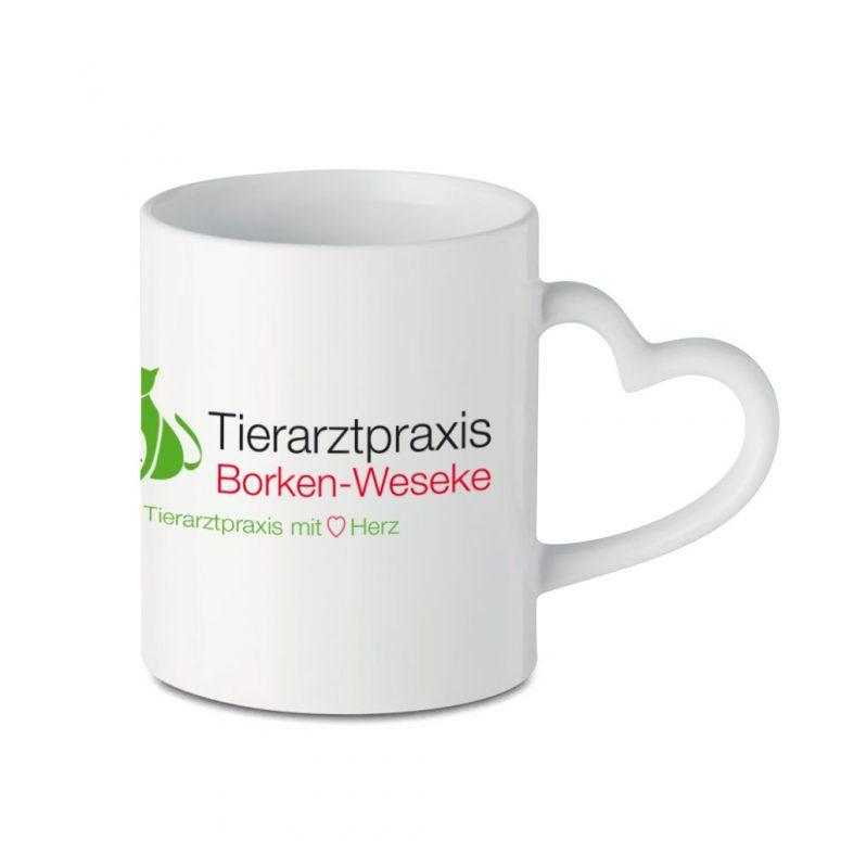 Tasse Tierarztpraxis Logo