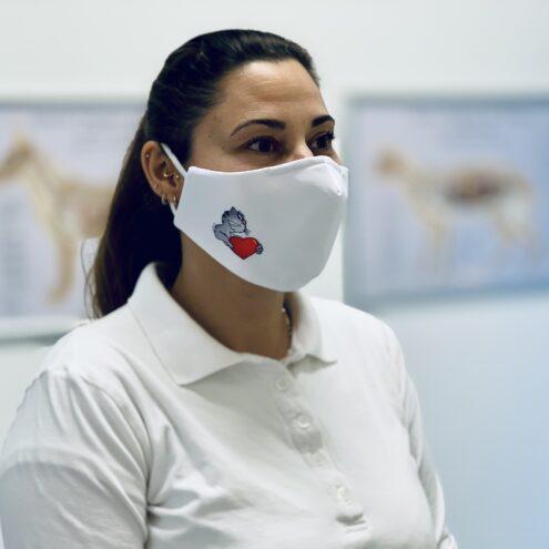 Alltagsmaske für Tierarztpraxen